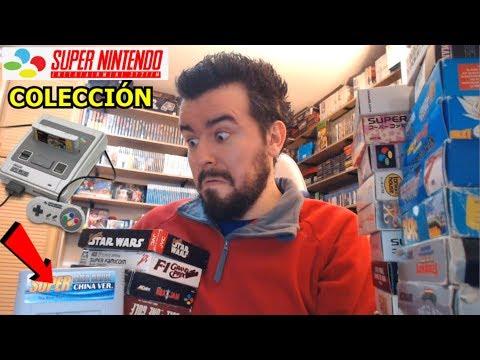 MI COLECCIÓN DE SUPER NINTENDO (SNES y Super Famicom) - En Español