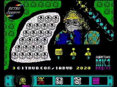 RETROJuegos Homebrew ... The Hoarder © 2020. De IADVD para ZX Spectrum - Review por Fabio Didone