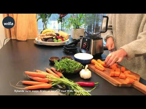 Gör en härlig god varm soppa med hjälp av Anna Ottosson och Wilfa Power Fuel Digital