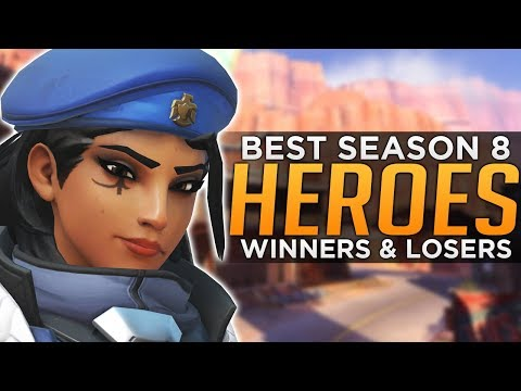 connectYoutube - Overwatch: BEST and WORST Heroes For Season 8 - Meta Predictions