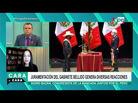 Cara a Cara | Sigrid Bazán, congresista de Juntos por el Perú