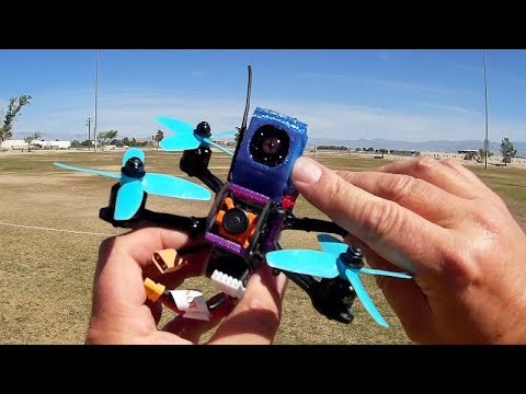 SKT-11 Cheap HD Micro FPV Racer Drone Action Camera Flight Test Review