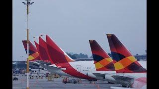 Aerolíneas nacionales e internacionales suspenden servicio en Colombia para acatar cuarentena