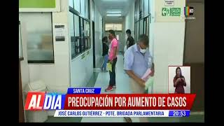 Preocupación en Santa Cruz por aumento de casos