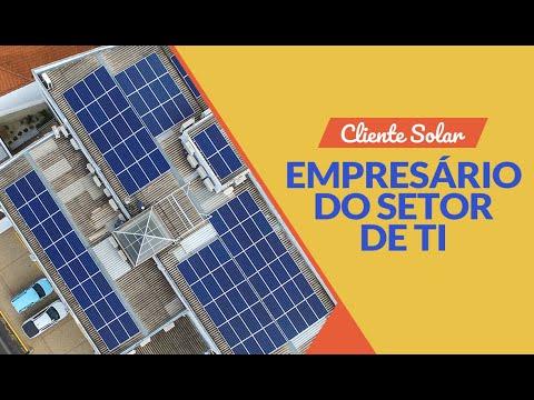 Cliente Solar: Empresário do setor de TI