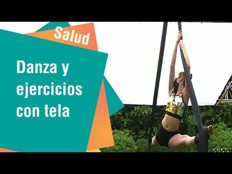 Danza y ejercicios con telas   Salud