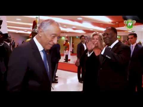 Diner offert en l'honneur du Président portugais S.E.M. Marcelo Rebelo de Sousa