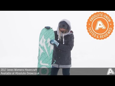 2016 / 2017 | Jones Womens Hovercraft Snowboard | Video Review