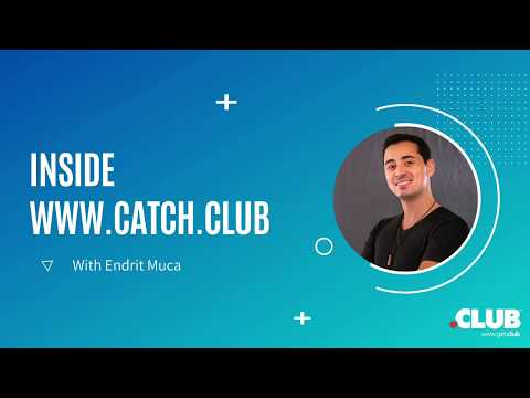 Inside Catch.Club with Endrit Muca, CMO, Namesilo