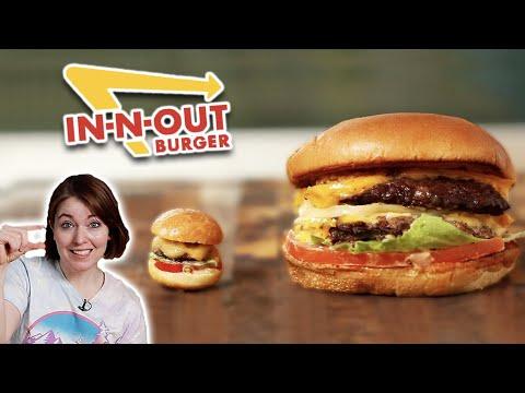 I Tried To Make Mini In-N-Out Burgers ? Tasty