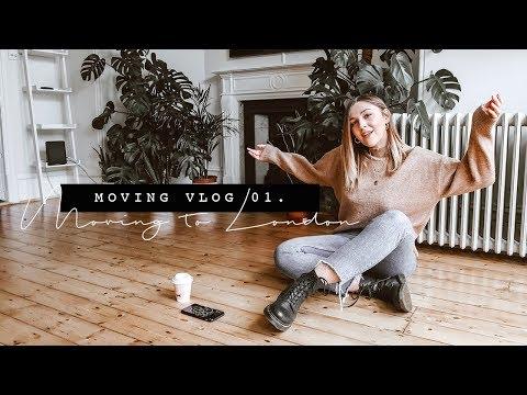 I'M MOVING! + EMPTY FLAT TOUR | MOVING VLOG 01. | I Covet Thee