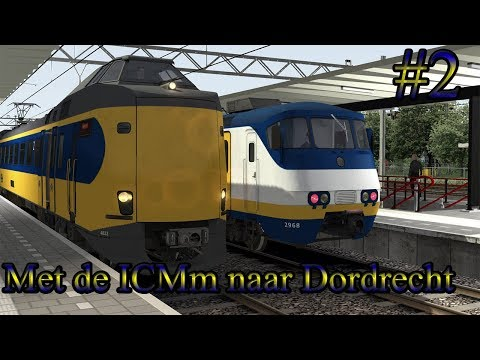 Preview Breda  Dordrecht met de ICMm  Train Simulator 2017 Livestream 2