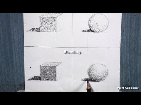 4 Basic Techniques of Pencil Drawing (NARRATED discussion)