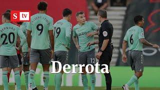 Primera derrota del Everton. ¿Influyó el desempeño de los colombianos James Rodriguez y Yerri Mina