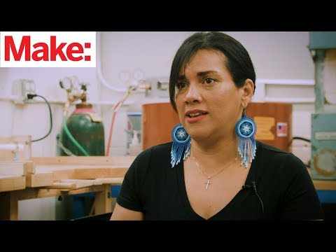 Meet the Maker: Gina Lujan, co-founder of HackerLab