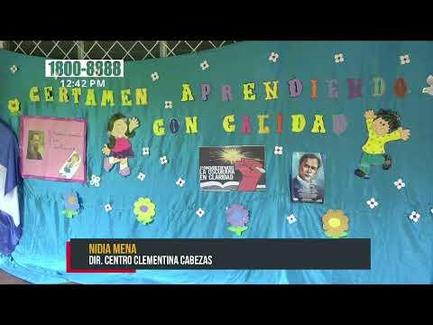 Estudiantes nicaragüenses participan en certamen nacional sobre la enseñanza