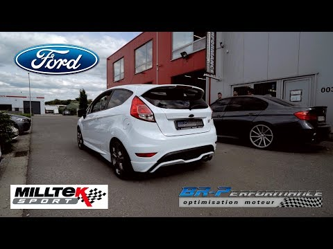 Ford Fiesta MK7 ST 1.6T Stage 2 By BR-Performance