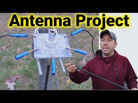 Ham Radio Antenna - Junk Box Ham Stick Mount for Portable/POTA