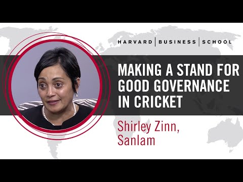 Sanlam's Shirley Zinn: Making a Stand for Good Governance in Cricket