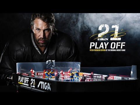 STIGA Play Off 21 Peter Forsberg Edition - Svenska