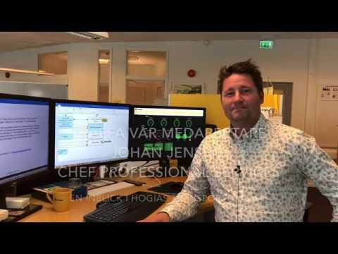 Träffa Johan Jensen, chef för professional Service