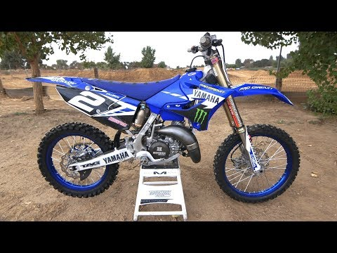 Motocross Action tests Ryan Villopoto's Yamaha YZ125 2 Stroke