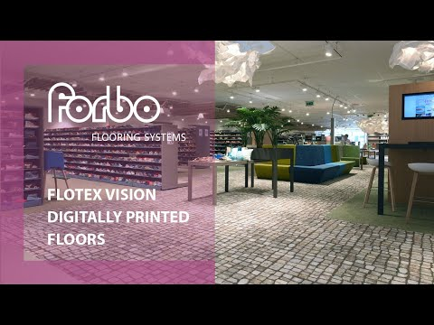 Forbo Flooring Systems Flotex Vision digitally printed floor