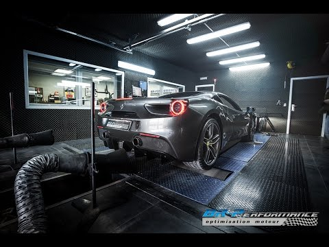 FERRARI 488 GTB 3.9 V8 Bi-Turbo By BR-Performance Coming soon