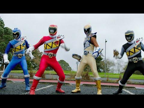 Power Rangers Beast Morphers temporada 2   Aparecen los rangers dino charge