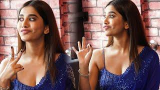 Actress Nabha Natesh Inaugurates 'Gismat Jail Theme Mandi' at Ameerpet | TFPC - TFPC