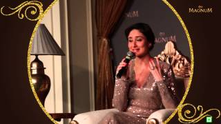 Kareena Launches Magnum ice-cream in Delhi & Kolkata