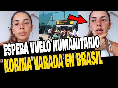 KORINA RIVADENEIRA AÚN ESPERA VUELO HUMANITARIO PARA RETORNAR AL PERÚ