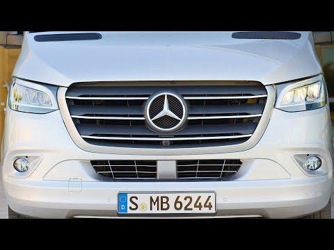 """Mercedes Sprinter (2018) The Most High-Tech Van Ever"""""""