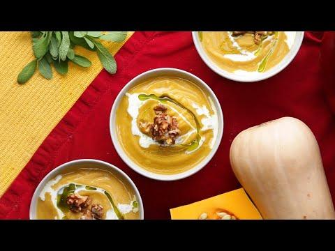 Roasted Butternut Squash Soup ?Tasty