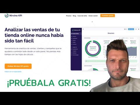 ✅  NIRVINE KPI ➡️  Herramienta de Analítica para Tiendas Online ¡PRUÉBALA GRATIS!