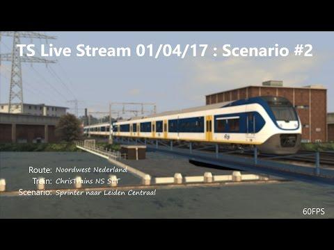 Sprinter naar Leiden Centraal (Livestream 01/04/17)