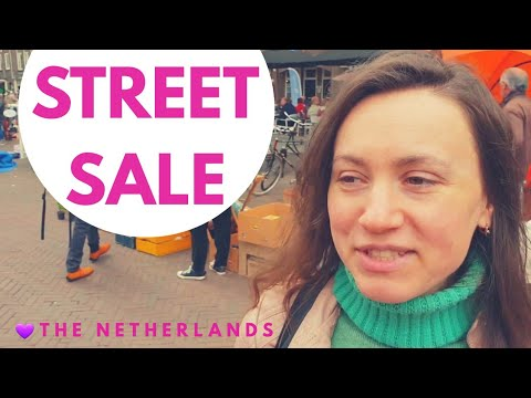 KING's DAY - HUGE ORANGE STREET SALE ♥ The Netherlands photo