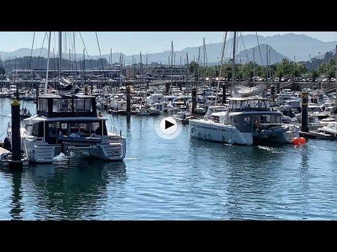 Los catamaranes del Puerto Deportivo