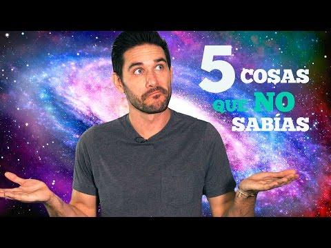 5 cosas que tal vez no sabías sobre nuestro Universo.