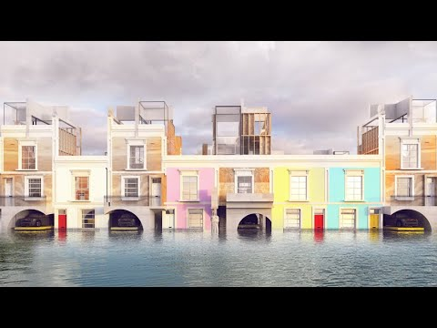 The D*Haus Company proposes flood-resistant Georgian housing | Architecture | Dezeen