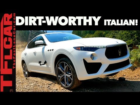 2019 Maserati Levante GTS Review: Can a Maserati Actually Play in the Dirt?