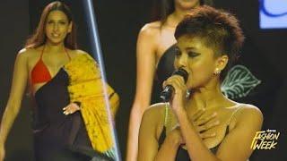 Manike Mage Hithe Live mashup performance by Yohani at Colombo Fashion week 2021