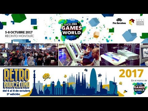 Retro Barcelona - Barcelona Games World 2017