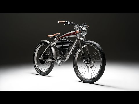 Vintage Electric Bikes - Tracker S