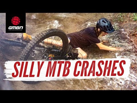 Silly Mountain Bike Crashes | GMBN's January Fails And Bails