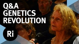Q&A - Genetics as Revolution - 2015 JBS Haldane Lecture