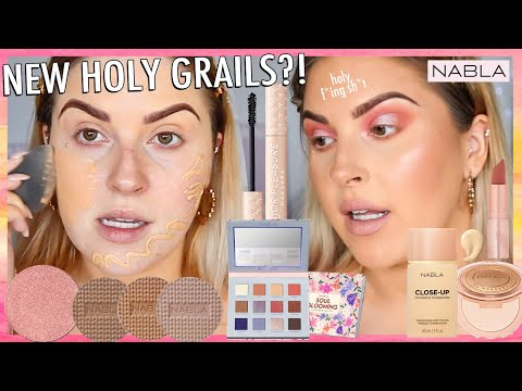 First Impressions... ?? FULL FACE of NABLA COSMETICS! wow.