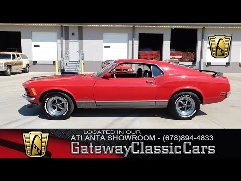 1970 Ford Mustang Mach I - Gateway Classic Cars of Atlanta #196