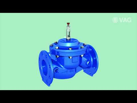 Animation PICO Pilot Operated Control Valve