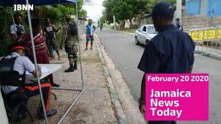 Jamaica News Today February 20 2020/JBNN